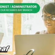 We are looking for a Receptionist/ Administrator based in Richards Bay